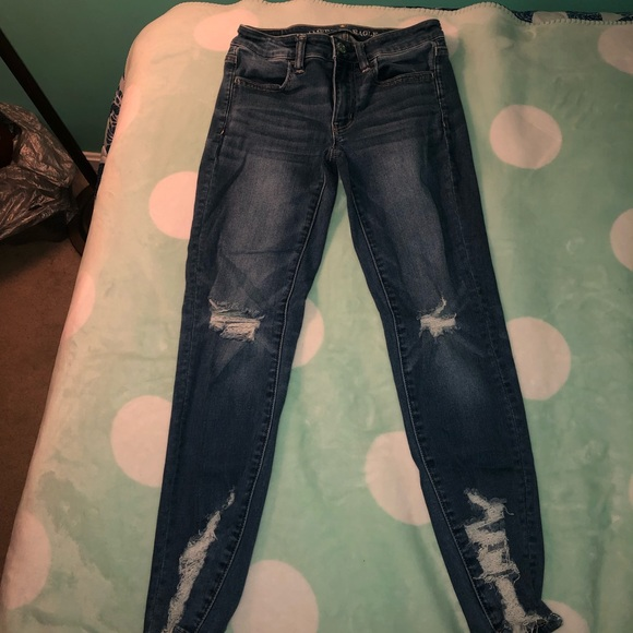 American Eagle Outfitters Denim - American Eagle cropped jeggings.